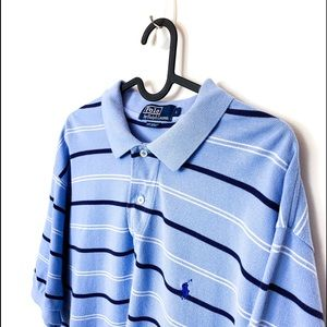 Vintage Blue Polo Shirt